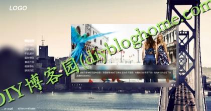 FLASH婚纱摄影ASP源码-个人源码网页模板(带后台_DIY博客园分享)