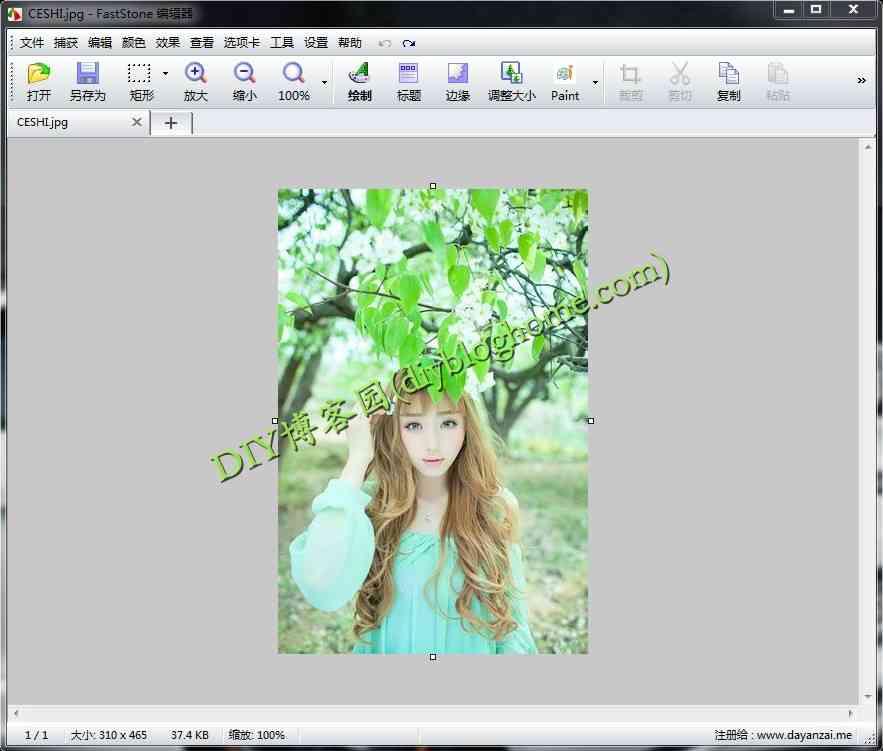好用的屏幕截图软件FastStone Capture 7.9 绿色版