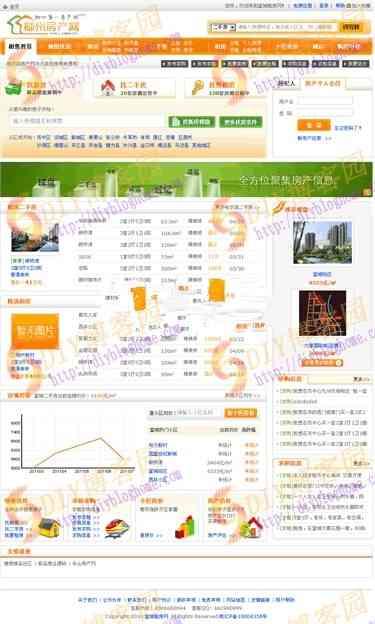 柳州房产网全功能商业版 无任何限制 带地图找房