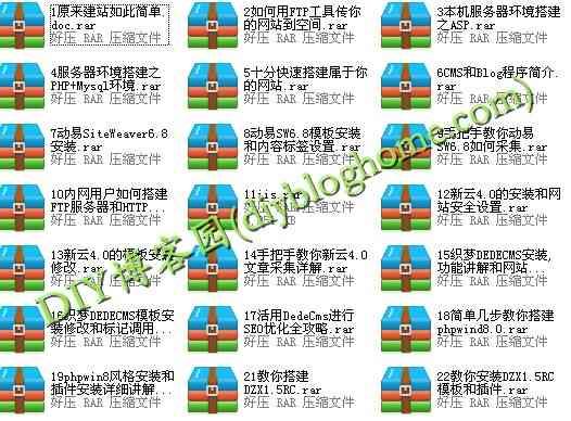 新手学建站全套视频教程共22课