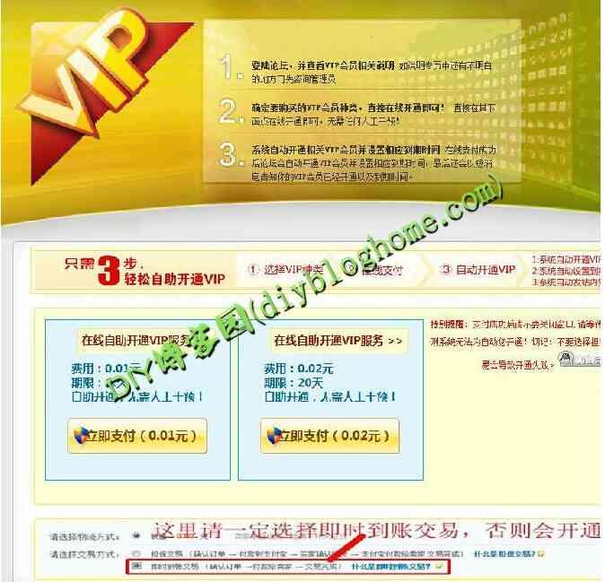 Discuz!商业插件vip购买-支付宝接口 多功能版(价值199元)