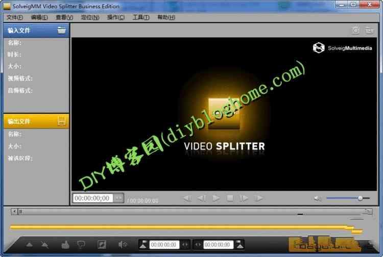 出色的视频编辑软件SolveigMM Video Splitter 5.0 中文注册版