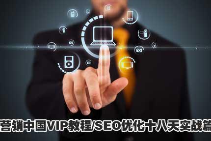 营销中国VIP教程 SEO优化十八天实战篇