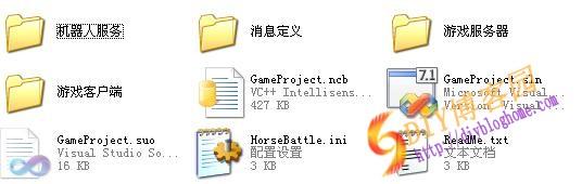 百人跑马(机器人+控制)游戏组件源码下载